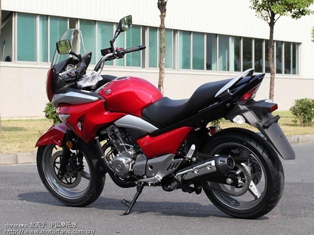 2013 Suzuki Inazuma GW250S - RearView