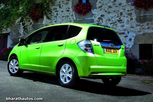 2011 Honda Jazz Hybrid - RearView