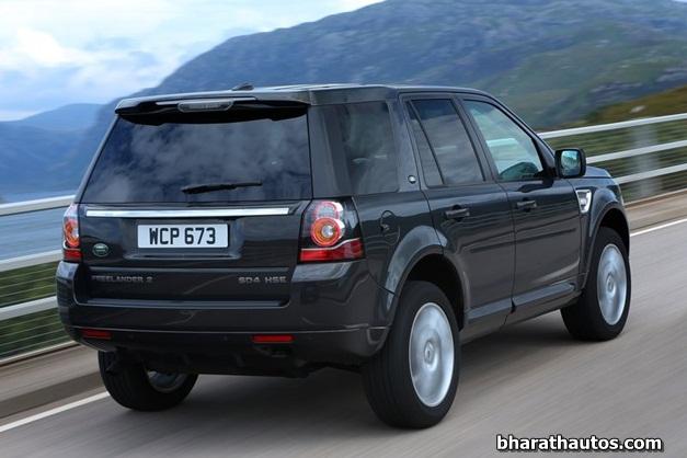 2013 Land Rover Freelander 2 - RearView