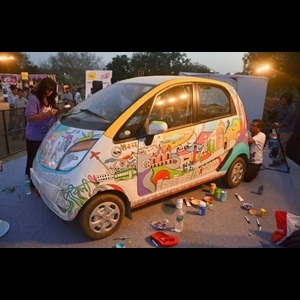 Tata Nano: Art-in-motion in 'Saddi Dilli'