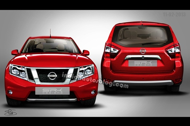 Nissan's version of Duster