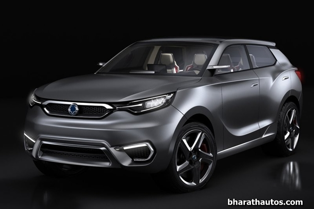 2013 SsangYong SIV-1 Concept - FrontView
