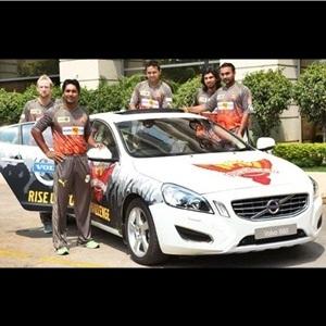 Volvo Cars India sponsors for IPL team Sunrisers Hyderabad