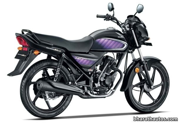 Honda Dream Neo 110cc motorcycle - RearView