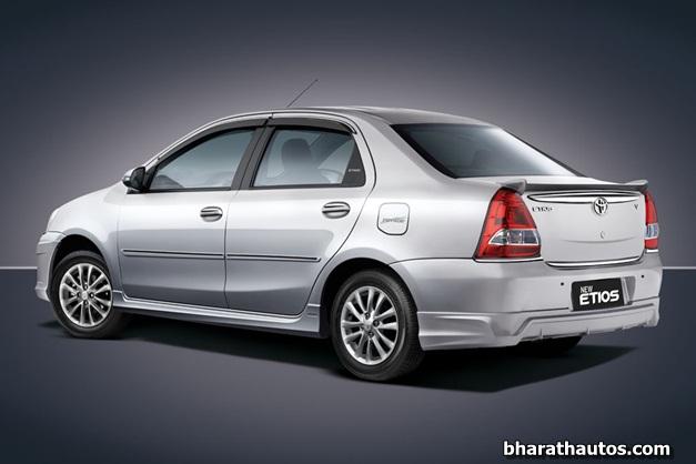 2013 Toyota Etios sedan - RearView