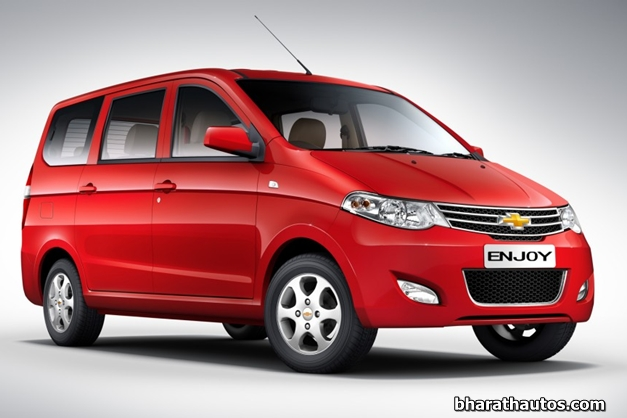 Chevrolet Enjoy MPV - FrontView