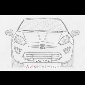 Next-gen Fiat Punto (Hand Sketch)