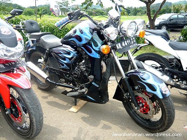 TVS Apache RTR 160 modified version - 006