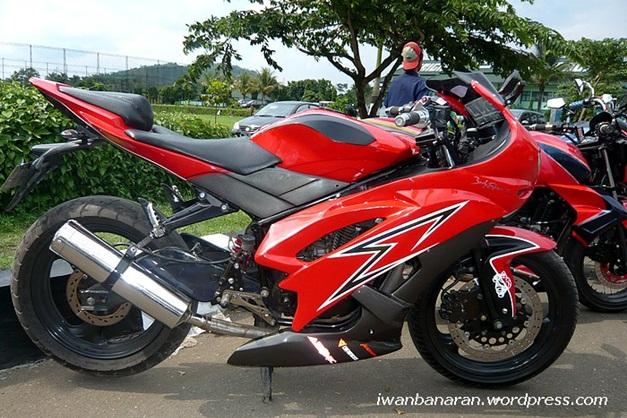 TVS Apache RTR 160 modified version