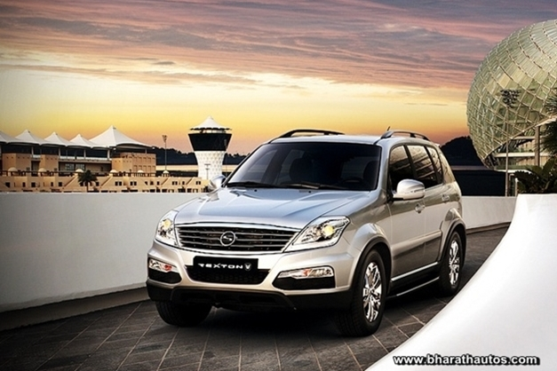 Ssangyong Rexton W - FrontView
