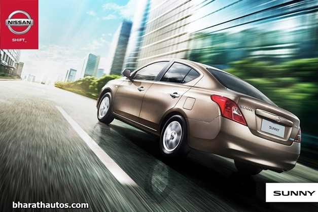 Nissan Sunny X-Tronic CVT - RearView