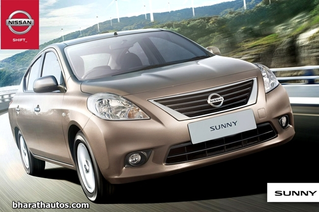 Nissan Sunny X-Tronic CVT - FrontView