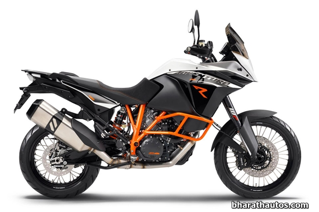 2013 KTM 1190 Adventure Touring Motorcycle (used as an illustration)