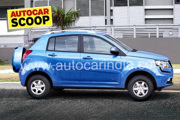Mahindra SsangYong S101 Mini SUV - SideView
