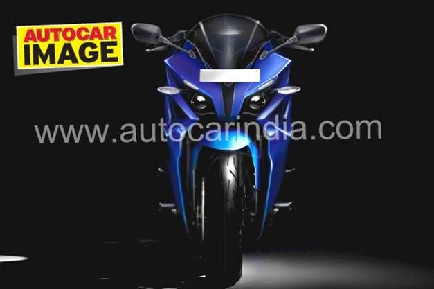Bajaj Pulsar 375 - Rendered picture