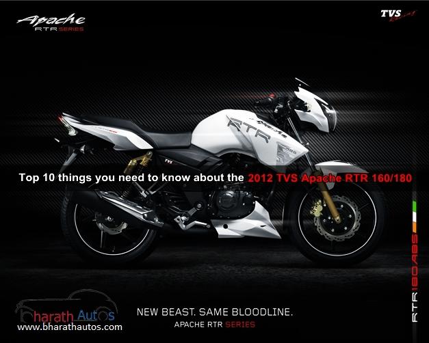 2012 TVS Apache RTR 160/180