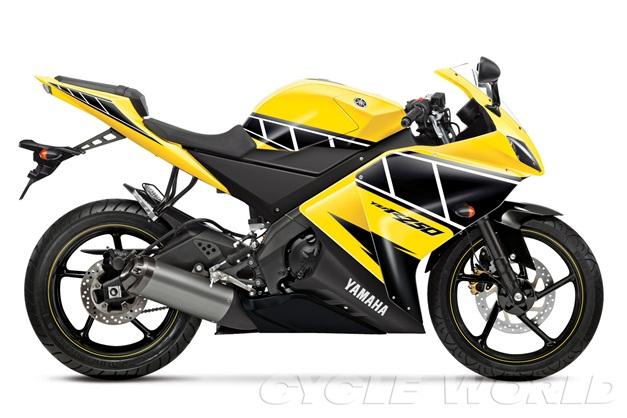 Yamaha's upcoming 25occ motorcycle