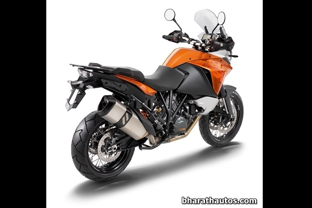2013 KTM 1190 Adventure Touring Motorcycle - RearView (used as an illustration)