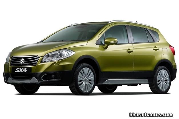 2014 Suzuki SX4 - FrontView