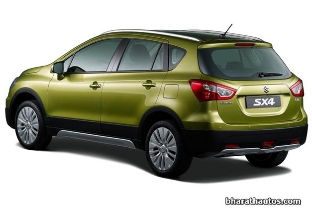 2014 Suzuki SX4 - RearView