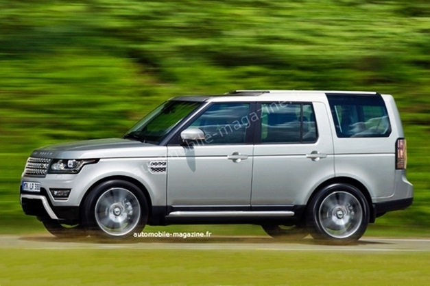 Next-Gen 2015 Land Rover Discovery