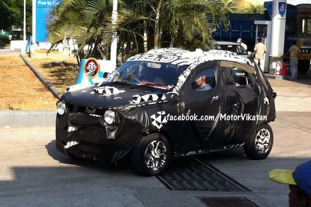 Mahindra S101 Sub-Compact SUV - FrontView