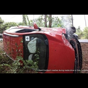 Emergency Assistance in Ford EcoSport saves lives in an accident during media drive