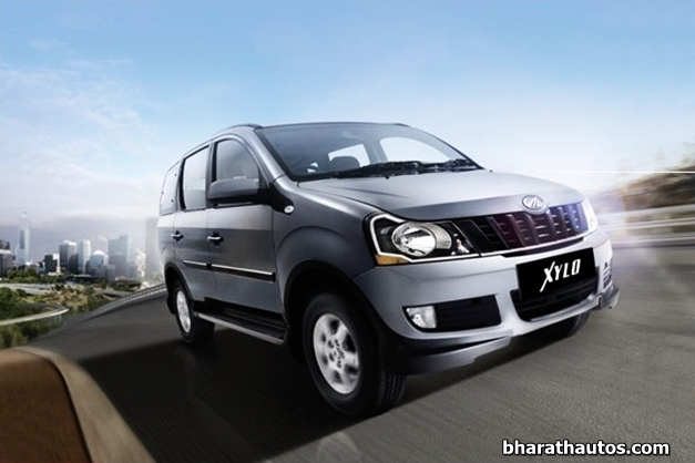 H-Series Mahindra Xylo in the new 'Dolphin Grey' body color