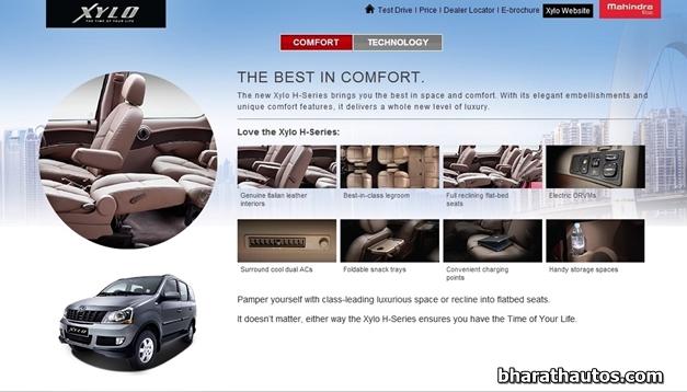 H-Series Mahindra Xylo - Comfort