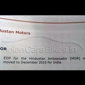 Production of Tata Safari, Indica and Hindustan Ambassador to end by 2015
