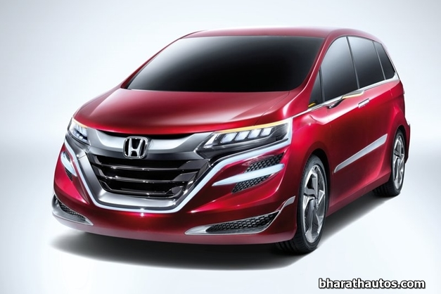 All New China Bound 2014 Honda Concept M Mpv Unveiled