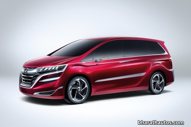 2014 Honda Concept M MPV - FrontQuarter