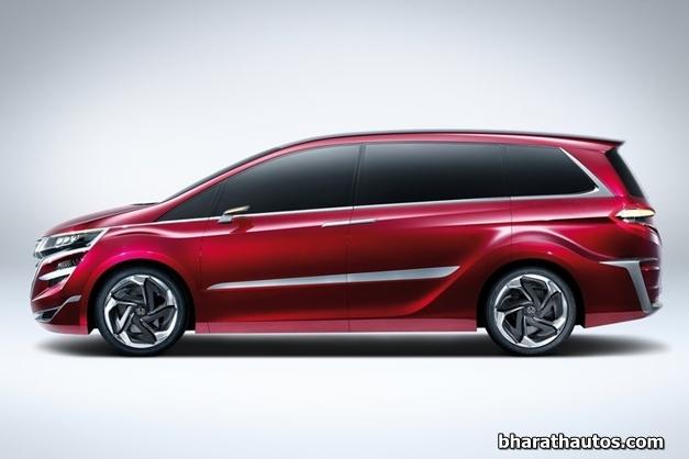 2014 Honda Concept M MPV - SideView