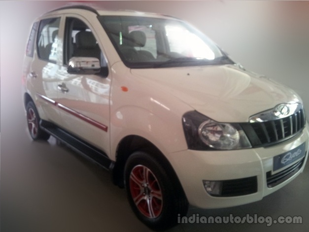 Mahindra Quanto dealer special edition - FrontView