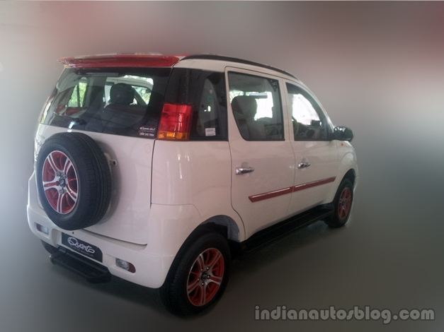 Mahindra Quanto dealer special edition - RearView