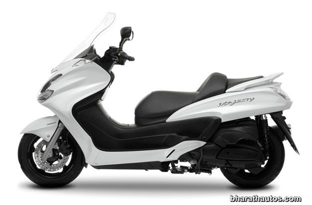 Yamaha's upcoming 125cc scooter