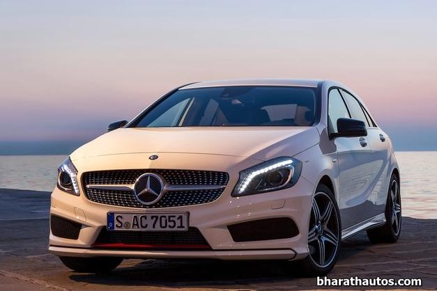 2013 Mercedes-Benz  A-Class - FrontView