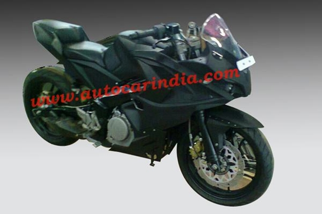 New Bajaj Pulsar 375 - FrontView