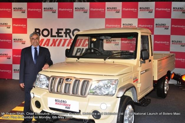 New Mahindra Bolero Maxi Truck Plus
