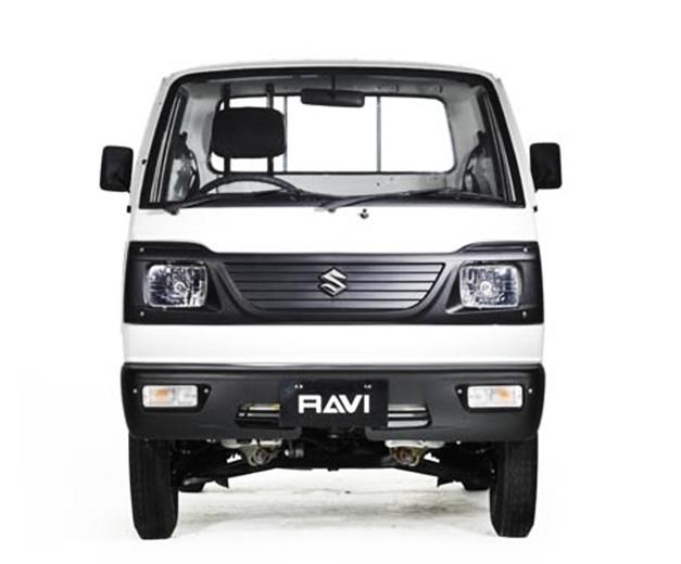 Suzuki Ravi - FrontView
