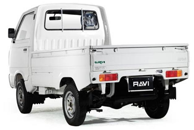 Suzuki Ravi - RearView