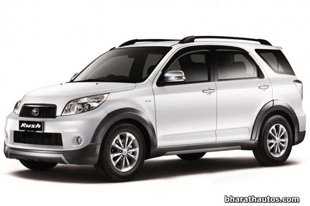 Toyota Rush - FrontView