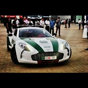 Dubai Police force adds Aston Martin One-77, Mercedes SLS & Bentley Continental GT