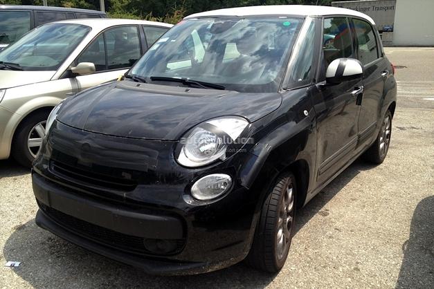 Fiat 500XL (spied) - FrontView