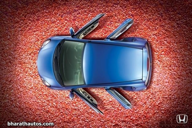 Honda Brio - TopView