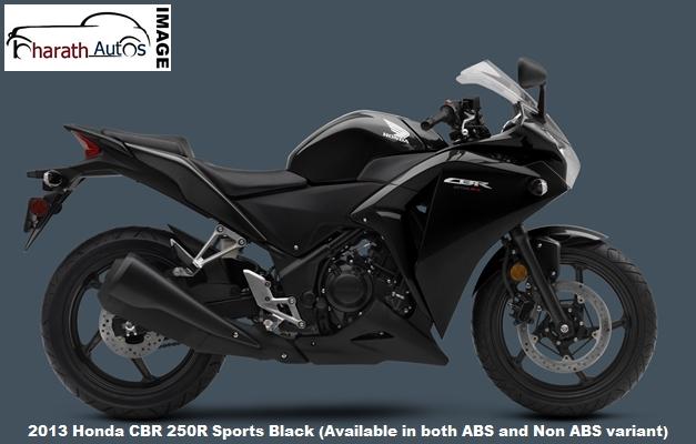 2013-Honda-CBR-250R-Black-India