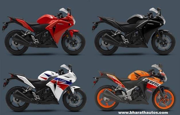 2013 Honda CBR 250R Comes In 4 New Colour Options