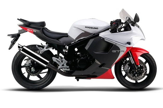2013 Hyosung GT250R - White