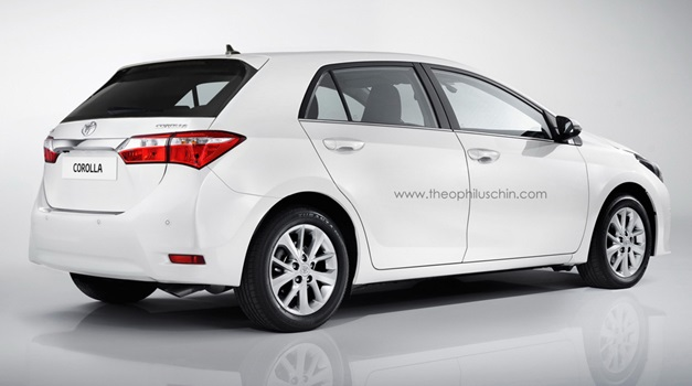 2014 Toyota Corolla For Sale >> Photo Renderings - What the 2014 Toyota Corolla could look like being hatchback
