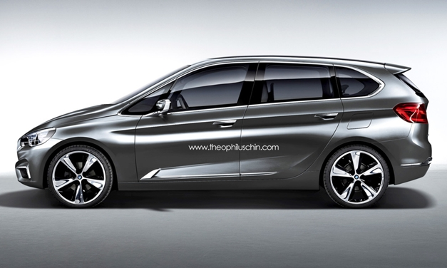 BMW 1-Series based MPV